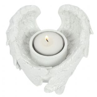 Angel Wings Tealight Candle Holder